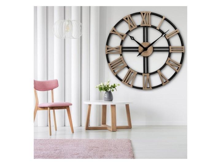 Zegar ścienny WOOD LOFT GRANDE 80cm