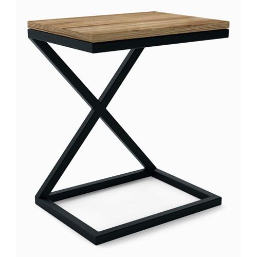 Industrialny stolik pod laptop Largo - X