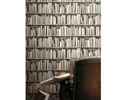 Koziel - Tapeta ścienna - Biblioteczka vintage 10m