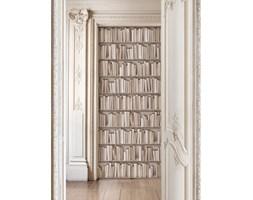 Koziel - Tapety ścienne - Imitacja biblioteczki 10m