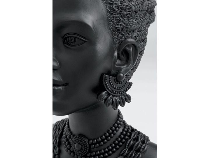 Figurka dekoracyjna Flower Lady 22x31 cm czarna