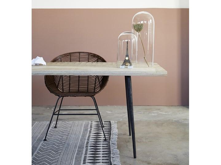 Krzesło Retro 66x85 cm Styl Vintage Pomieszczenie Jadalnia