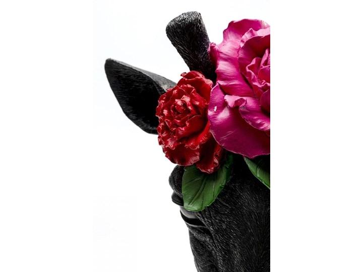 Figurka dekoracyjna Mask Giraffe Flower 28x46 cm Tworzywo sztuczne Metal Kategoria Figury i rzeźby