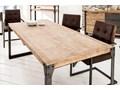 Stół Factory II S Metal Drewno Kategoria Stoły kuchenne Wysokość 75 cm Długość 160 cm  Pomieszczenie Stoły do jadalni
