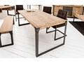 Stół Factory II S Metal Wysokość 75 cm Drewno Długość 160 cm  Pomieszczenie Stoły do jadalni