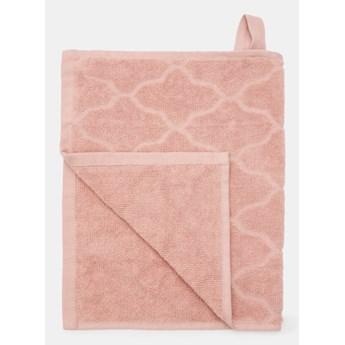 Sinsay - Bawełniany ręcznik 30x50 - Różowy