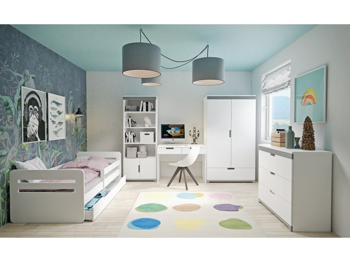 Zestaw mebli dziecięcych z łóżkiem 180x80 TOMI - Meb24.pl