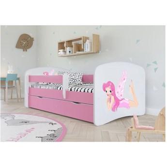 Łóżeczko dla dziewczynki 140x70 BABYDREAMS - Meb24.pl