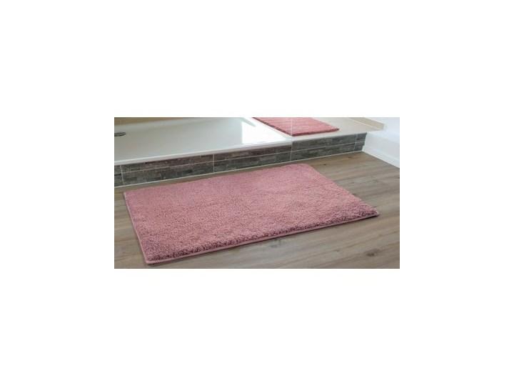 Dywanik łazienkowy GÖZZE Rio 1025-39-060100 Różowy Mikrofibra Kolor Szary