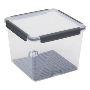 Pojemnik plastikowy PLAST TEAM Copenhagen 52340801 5.2 L Szary