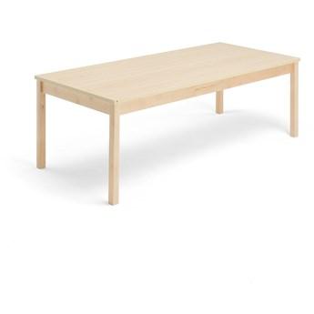 Stół EUROPA, 1800x800x600 mm, brzoza laminat, brzoza
