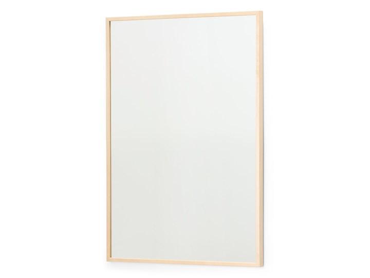Lustro, 620x920 mm, brzoza Lustro z ramą Ścienne Prostokątne Kolor Złoty