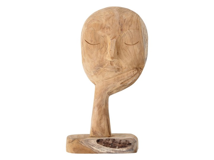 Rzeźba z drewna Calm Kategoria Figury i rzeźby Drewno Kolor Beżowy
