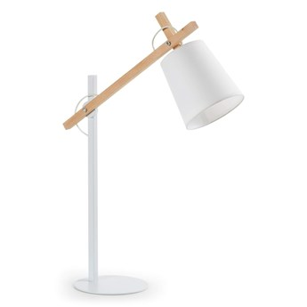 La Forma - Kosta Table Lamp - Biała Lampa Biurkowa do Domu