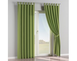 Zasłona na szelkach 1 szt., Spring Green (limonkowa zieleń), 1szt 130 × 260 cm, Cotton Panama