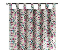 Zasłona na szelkach 1 szt., kolorowe kwiaty z przewagą niebieskiego, 1szt 130 × 260 cm, Monet