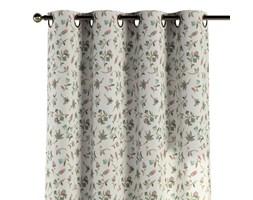 Zasłona na kółkach 1 szt., małe kwiaty na jasnym tle, 1szt 130 × 260 cm, Londres