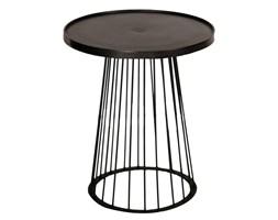 Stolik pomocniczy Wire black wys. 52cm, 44 × 44 × 52 cm