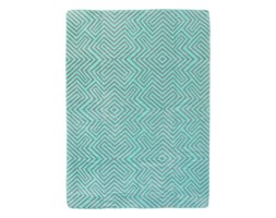 Koc Cotton Cloud 150x200cm Mint Maze, 150 × 200 cm