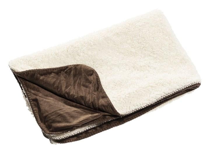 Pled Wolle brown 130x160cm, 130×160cm 130x170 cm Poliester Wełna Bawełna 130x160 cm Kolor Brązowy