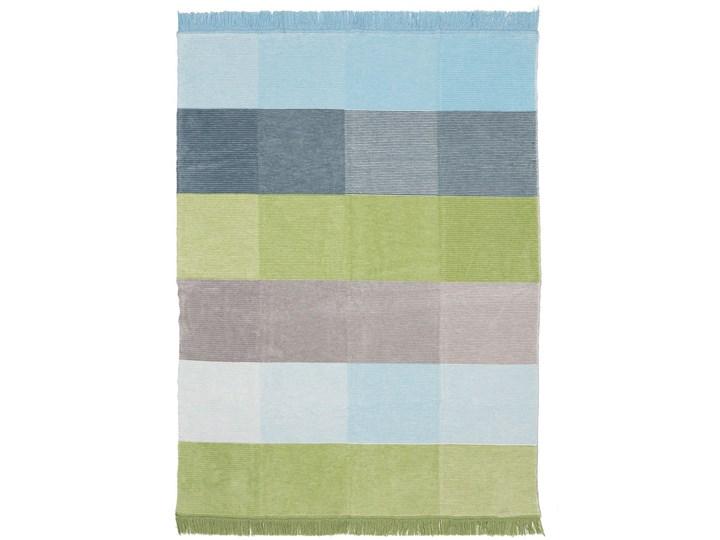Koc Cotton Cloud 150x200cm Pastel Green&Blue, 150 x 200 cm Bawełna Akryl 150x200 cm Kategoria Koce i pledy Kolor Wielokolorowy