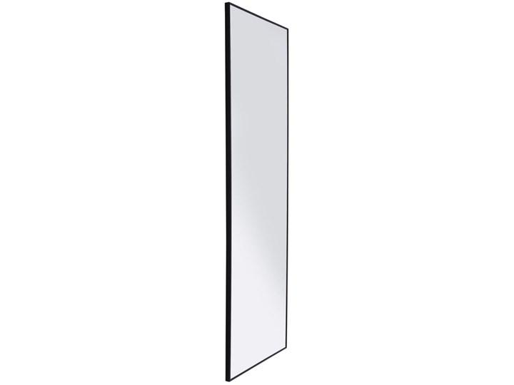 Lustro wiszące Bella 30x130 cm czarne Lustro z ramą Kolor Biały Ścienne Prostokątne Pomieszczenie Przedpokój