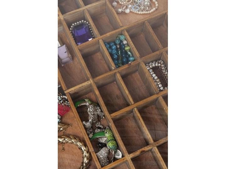 Stolik kawowy Collector 55x55 cm drewniany Szkło Płyta meblowa Stal Styl Vintage Drewno Kategoria Stoliki i ławy