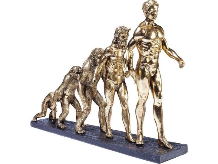 Figurka dekoracyjna Evolution 58x43 cm złota Kategoria Figury i rzeźby Kolor Złoty
