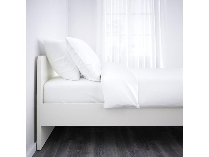 ASKVOLL Rama łóżka Kategoria Łóżka do sypialni Łóżko drewniane Kolor Biały