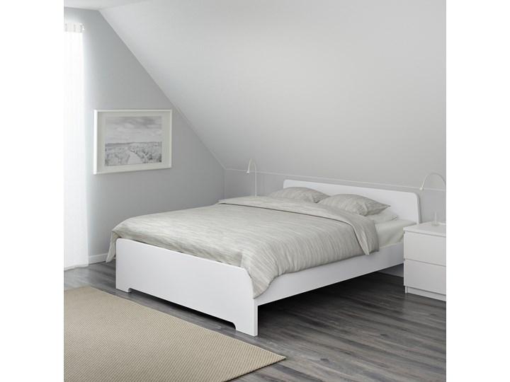 ASKVOLL Rama łóżka Łóżko drewniane Kolor Biały