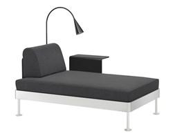 IKEA DELAKTIG Szezlong ze stolikiem i lampą, Hillared antracyt