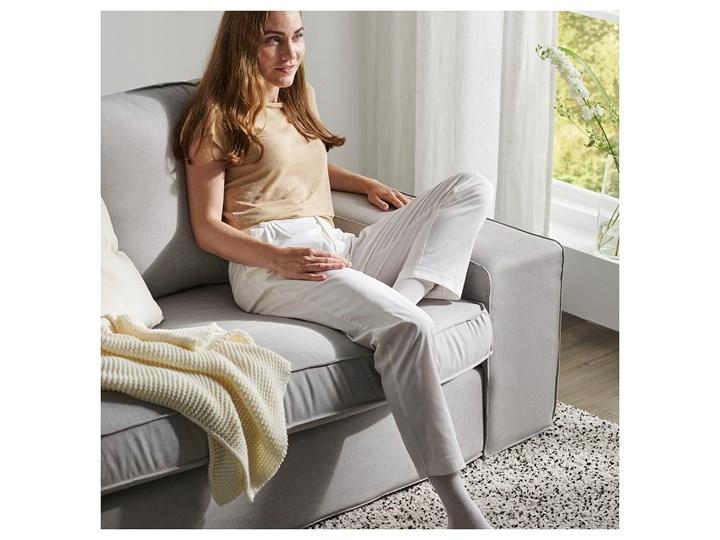 IKEA KIVIK Sofa narożna 5-osobowa, Orrsta jasnoszary, Głębokość: 95 cm Prawostronne Rozkładanie Lewostronne Materiał obicia Tkanina