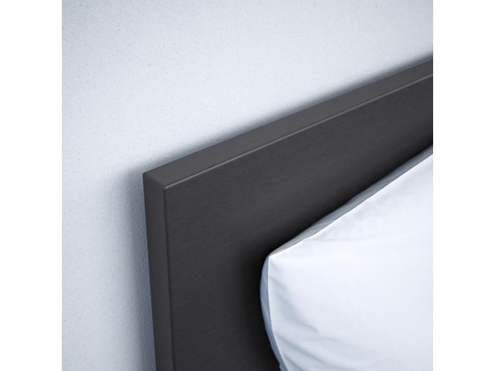 MALM Rama łóżka z 2 pojemnikami Łóżko drewniane Kategoria Łóżka do sypialni Kolor Czarny