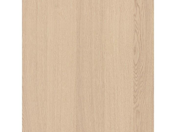 IKEA MALM Rama łóżka z 2 pojemnikami, Okleina dębowa bejcowana na biało, 90x200 cm Kolor Beżowy Drewno Łóżko drewniane Kolor Biały