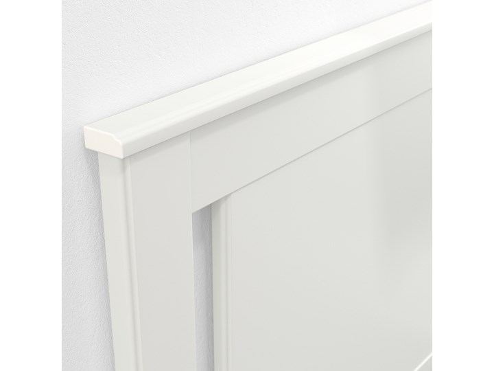 IKEA SONGESAND Rama łóżka z 4 pojemnikami, biały, 140x200 cm Łóżko drewniane Kolor Szary