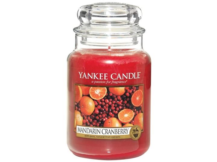 Świeca zapachowa Yankee Candle Mandarin Cranberry Kategoria Świeczniki i świece