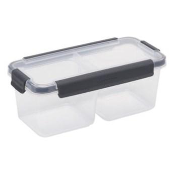Pojemnik plastikowy PLAST TEAM Copenhagen 52220801 0.96 L Szary