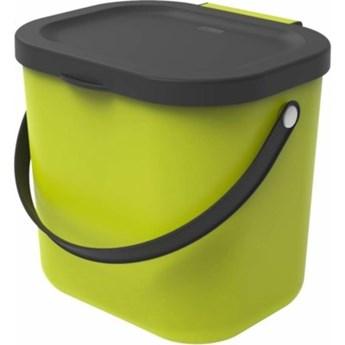 Kosz na śmieci ROTHO 1030305070 Albula 6 L Limonkowy