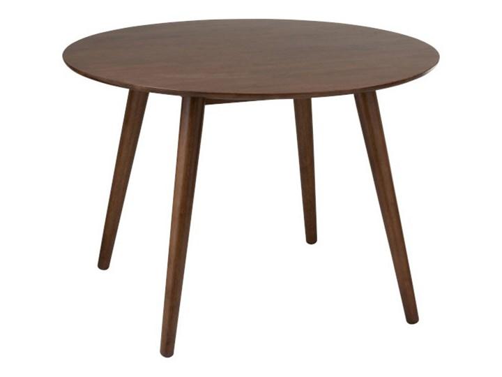 Stół do jadalni Vintage okrągły Rozkładanie Wysokość 77 cm Drewno Pomieszczenie Stoły do jadalni