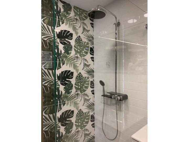 Natryskowa kolumna prysznicowa Corsan Klar Fiber CMN002 czarna Wyposażenie Z słuchawką Wyposażenie Z baterią