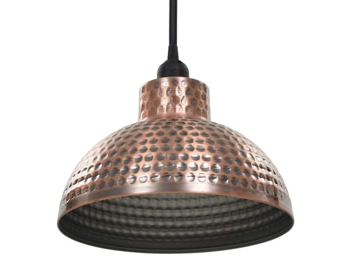 Komplet dwóch metalowych lamp wiszących - EX16-Tores Kategoria Lampy wiszące Lampa z kloszem Styl Industrialny