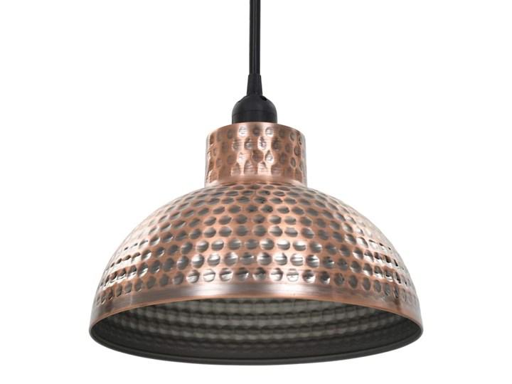 Komplet dwóch metalowych lamp wiszących - EX16-Tores Lampa z kloszem Styl Industrialny Kategoria Lampy wiszące