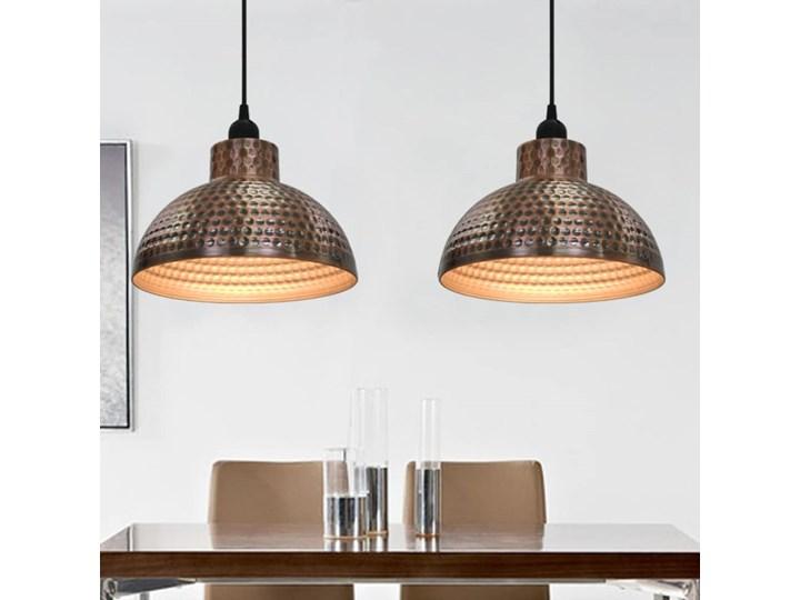 Komplet dwóch metalowych lamp wiszących - EX16-Tores Lampa z kloszem Styl Nowoczesny