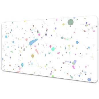 Duża podkładka na biurko dla dzieci Plama Farby