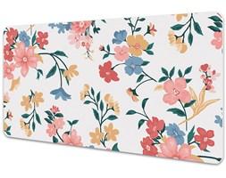 Mata na biurko Mata na biurko Kolorowy kwiaty