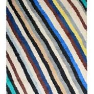 Dywan wełniany w paski HK Living - 200x140 cm