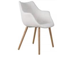 Krzesło tapicerowane Eleven białe Zuiver