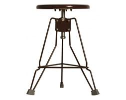 Metalowy stołek warsztatowy Clipper brązowy Zuiver