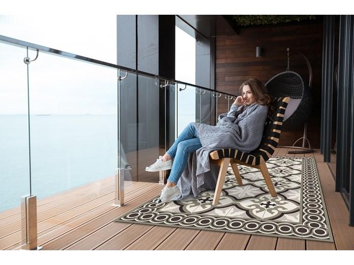 Nowoczesny dywan outdoor wzór Hiszpański wzór 60x90 cm Dywany 80x120 cm Prostokątny Pomieszczenie Salon Winyl Kategoria Dywany