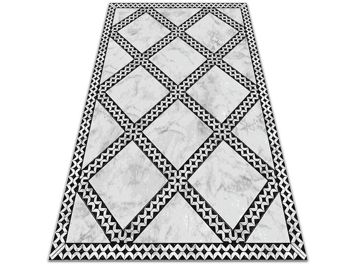 Nowoczesny dywan na balkon wzór Marmur wzorek Prostokątny 60x90 cm Dywany Pomieszczenie Kuchnia Winyl 80x120 cm Pomieszczenie Balkon i taras